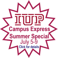 IUP Summer Special - Link opens in a new window.