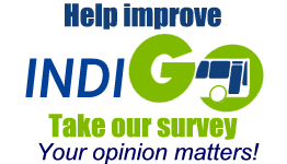 Take Our Survey - Link opens in a new window.